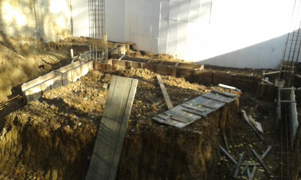 Фотозвіт будівельних робіт за першу половину листопада